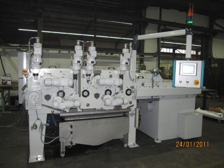 DEBURRING BRUSH MACHINE FOR AEROSPACE PARTS