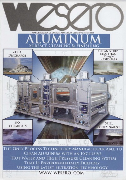 Hot water high pressure chemical free precleaners brochure