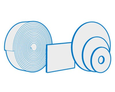 Gray Non Woven Abrasive Pads, Rolls & Discs Available for Fine Cleaning
