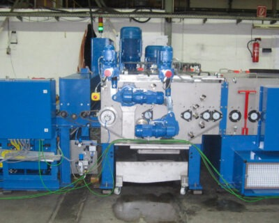 Press Plate Cleaning, Deburring, and Finishing Brush Machines for Flat Parts