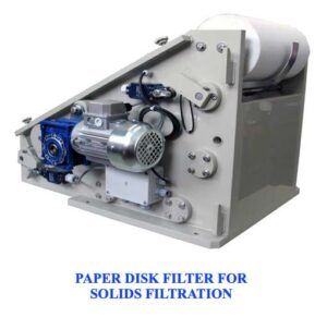 Ultrasonic wire cleaning paper filter